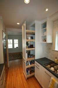 Pantry Roll Out Shelves