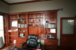 Custom Cabinetry for Office